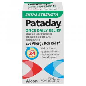 Pataday Extra Strength Once Daily Eye Allergy Itch Relief