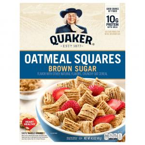 Quaker Oat Squares Brown Sugar Cereal