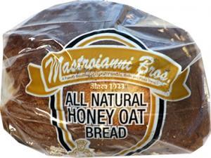 Mastroianni All Natural Honey Oat Bread