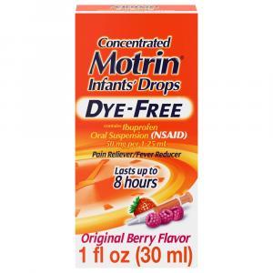 Motrin Infant Dye Free Berry Flavor