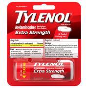 Tylenol Extra Strength Caplets 500 Mg