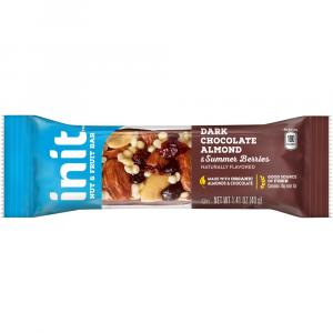 Init Dark Almond And Summer Berries Nut And Fruit Bars