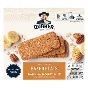 Quaker Breakfast Flats Banana Honey Nut