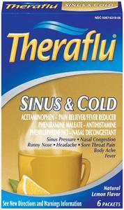 Theraflu Sinus & Cold Lemon Flavor