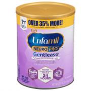 Enfamil Neuro Pro Gentlease Powder Infant Formula Tub
