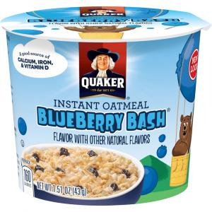 Quaker Blueberry Bash Oatmeal Kid's Cup