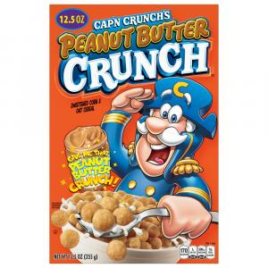 Quaker Cap'n Crunch Peanut Butter Cereal