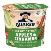 Quaker Express Hot Cup Apple Cinnamon