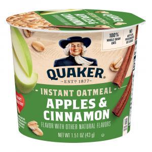 Quaker Express Hot Cup Apple Cinnamon