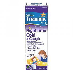 Triaminic Night Time Cold & Cough Grape Flavor