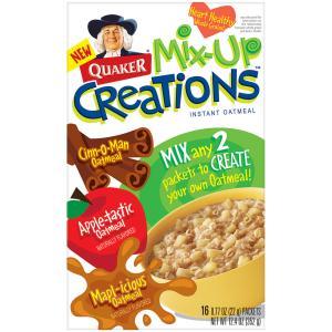 Quaker Mix Up Creations Maple Cinnamon Apple Oatmeal