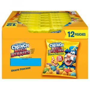 Quaker Cap'n Crunch Mega Berries Snack Pouches