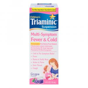 Triaminic Multi-symptom Fever & Cold Grape Flavor