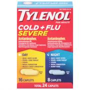 Tylenol Cold & Flu Severe Day & Night Caplets