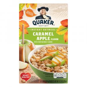 Quaker Caramel Apple Instant Oatmeal