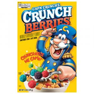 Quaker Cap'n Crunch Crunchberries Cereal