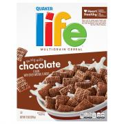 Quaker Chocolate Life Cereal
