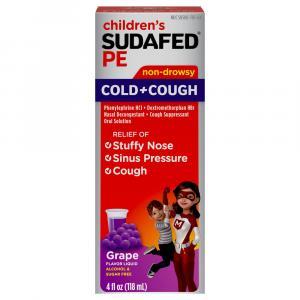 Children's Sudafed PE Cough & Cold Liquid