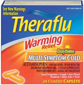 Theraflu Caplets Daytime Multi Symptom Cold
