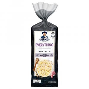 Quaker Rice Cakes Everything