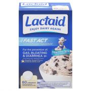 Lactaid Fast Act Vanilla Twist Chewable Tablets