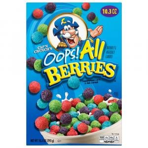 Quaker Cap'n Crunch Oops! All Berries Cereal