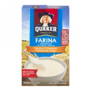 Quaker Creamy Wheat Farina