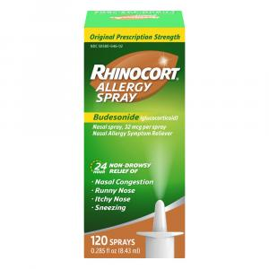 Rhinocort Allergy Relief Nasal Spray 120 Doses