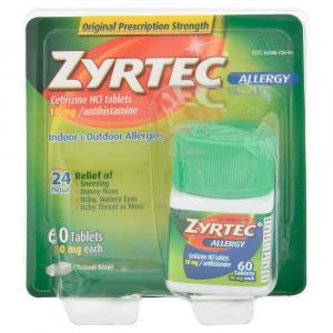 Zyrtec Allergy Tablets