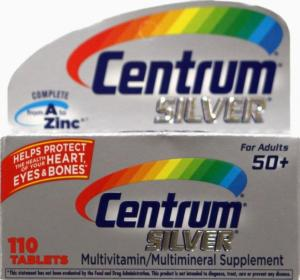 Centrum Silver Multivitamins