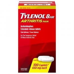 Tylenol Arthritis Pain Caplets EZ Open