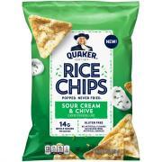 Quaker Rice Chips Sour Cream & Onion
