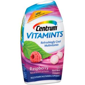 Centrum Vitamints Raspberry Adult Minty Chewables