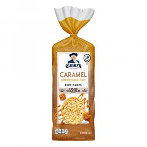 Quaker Caramel Rice Cakes