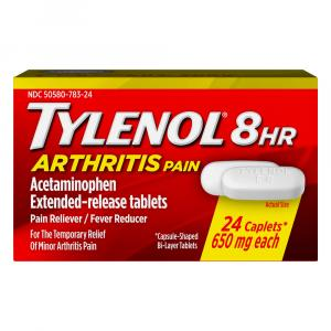 Tylenol 8 Hour Arthritis Pain Caplets 650 mg