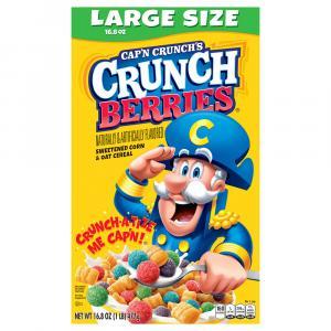 Cap'n Crunch's Crunch Berries Cereal