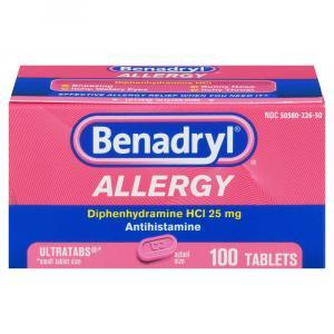 Benadryl Allergy Ultra Tabs