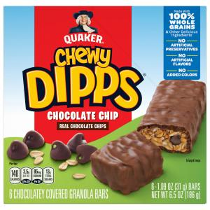 Quaker Chewy Chocolate Chip Dipps