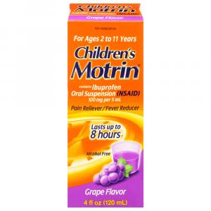 Children's Motrin Grape Flavor
