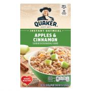 Quaker Apple Cinnamon Instant Oatmeal