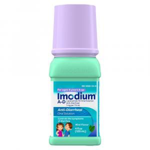 Children's Imodium Liquid Mint Flavor