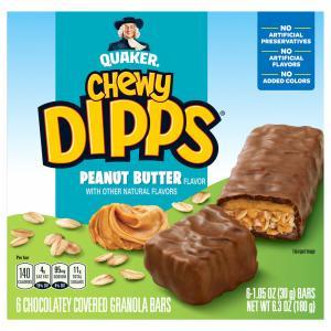 Quaker Chewy Peanut Butter Dipps