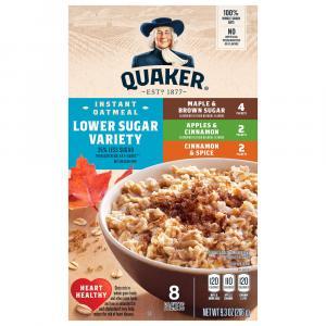 Quaker Low Sugar Variety Pack Oatmeal