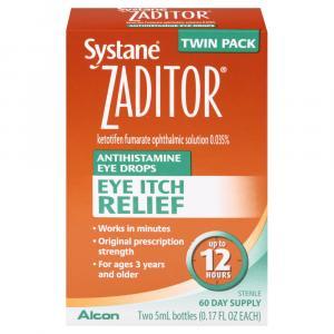 Alcon Zaditor Antihistamine Eye Drops