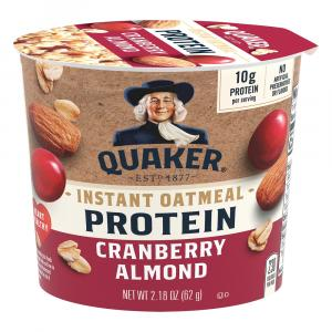 Quaker Instant Oatmeal Cup Cranberry & Almond