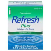 Allergan Refresh Plus Eye Drops
