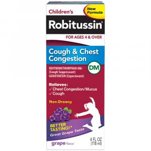 Robitussin Children's Cold Cough & Chest Congestion DM