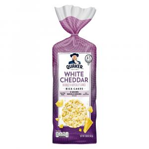 Quaker White Cheddar Rice Cakes
