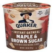 Quaker Express Maple & Brown Sugar Instant Oatmeal