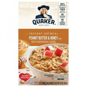 Quaker Instant Oatmeal Peanut Butter & Honey